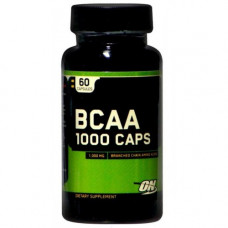 Аминокислоты BCAA 1000 caps, ON, (60 капс)