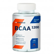 Аминокислоты BCAA 1200(120 caps) CyberMass