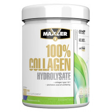Коллаген 100% Collagen Hydrolysate, Maxler, (300 гр)