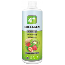 Коллаген, Collagen concentrate 9000, 4Me Nutrition, (1000 мл)