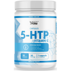 Аминокислота 5-HTP + Vitamin C, Health Form, (30 капс)