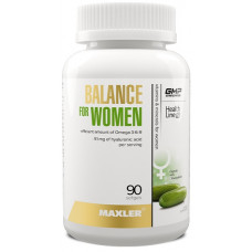 Витамины Balance for Women, Maxler, (90 капс)