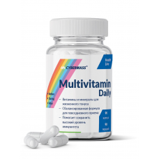 Витамины Multivitamin Daily, Cybermass, (90 капс)