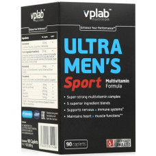 Витамины Ultra Men's Multivitamin, VpLab, (90 табл)